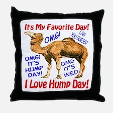 Hump Day Camel Best Seller Throw Pillow