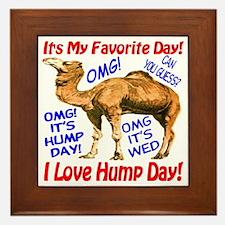 Hump Day Camel Best Seller Framed Tile