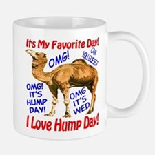 Hump Day Camel Best Seller Small Mugs