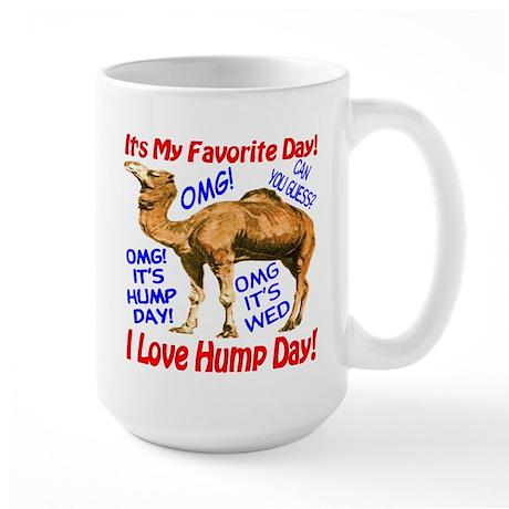 Hump Day Camel Best Seller Large Mug