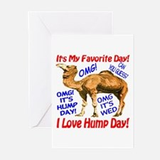 Hump Day Camel Best Seller Greeting Cards (Pk of 1