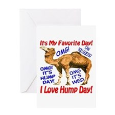 Hump Day Camel Best Seller Greeting Card