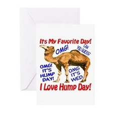 Hump Day Camel Best Seller Greeting Cards (Pk of 2