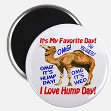 "Hump Day Camel Best Seller 2.25"" Magnet (10 pack)"