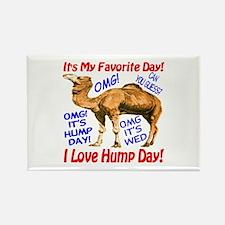 Hump Day Camel Best Seller Rectangle Magnet