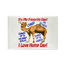 Hump Day Camel Best Seller Rectangle Magnet (10 pa