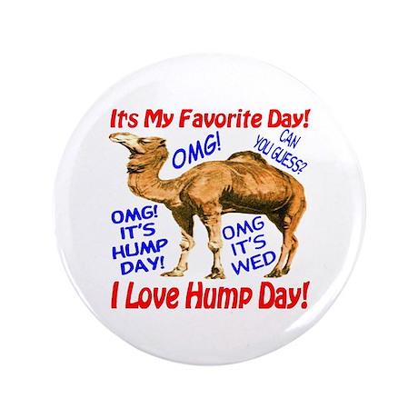 "Hump Day Camel Best Seller 3.5"" Button"