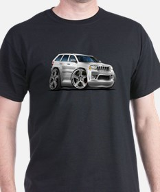 Jeep Cherokee White Car T-Shirt