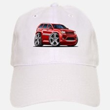 Jeep Cherokee Red Car Baseball Baseball Cap