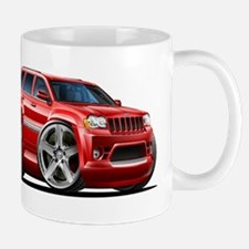 Jeep Cherokee Red Car Mug