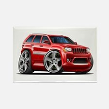 Jeep Cherokee Red Car Rectangle Magnet