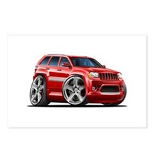 Jeep Cherokee Red Car Postcards (Package of 8)
