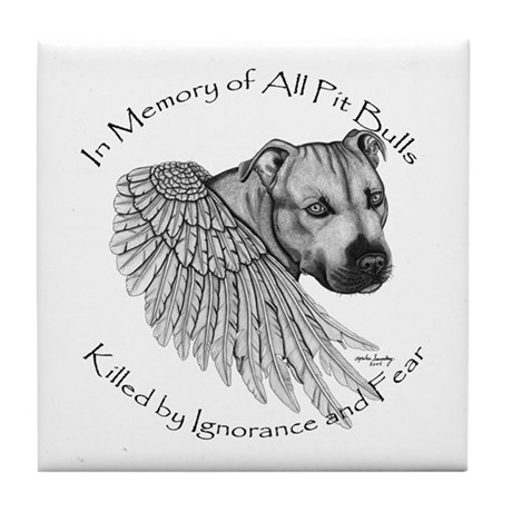 In Memory...Tile Coaster