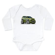 Jeep Cherokee Ivy Car Long Sleeve Infant Bodysuit