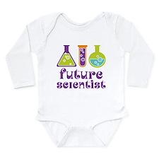 Future Scientist Science Long Sleeve Infant Bodysu