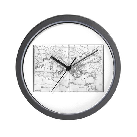 The Hellenistic World Wall Clock