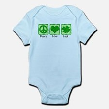 Peace Love Luck Infant Bodysuit