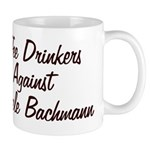 Coffee Drinkers Against Michele Bachmann mug