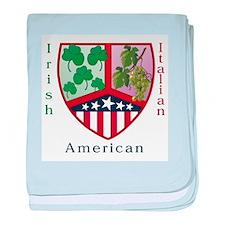 Cute Irish american baby blanket