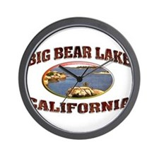 Big Bear Lake Wall Clock
