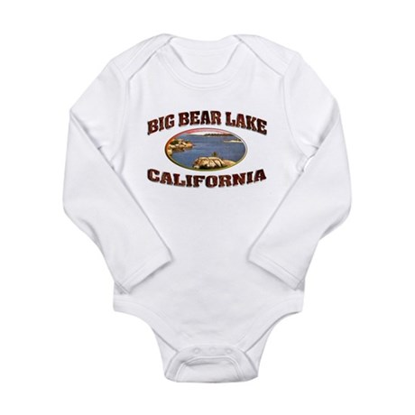 Big Bear Lake Long Sleeve Infant Bodysuit
