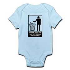 Religious Litter Infant Bodysuit