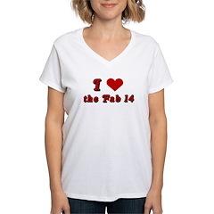 I <3 the Fab 14 Shirt