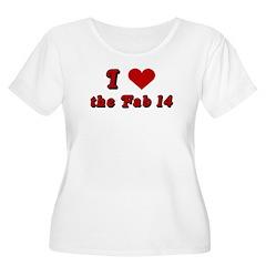 I <3 the Fab 14 T-Shirt