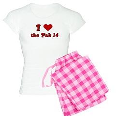 I <3 the Fab 14 Pajamas