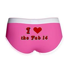 I <3 the Fab 14 Women's Boy Brief