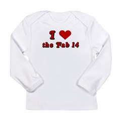 I <3 the Fab 14 Long Sleeve Infant T-Shirt