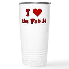 I <3 the Fab 14 Travel Mug