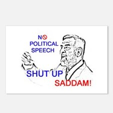 Shut Up Saddam Postcards (Package of 8)