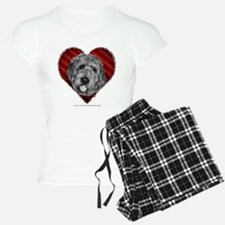 Labradoodle Valentine Pajamas