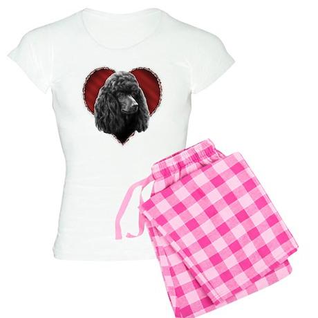 Poodle Valentine Women's Light Pajamas