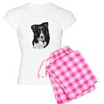 Border Collie Malcolm Women's Light Pajamas