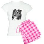 Shetland Sheepdog (Sheltie) Women's Light Pajamas