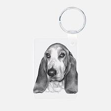Basset Hound Keychains