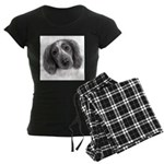 Welsh Springer Spaniel Women's Dark Pajamas