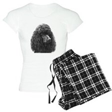 Black or Chocolate Poodle Pajamas