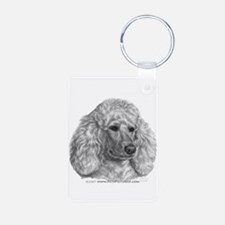 Holly, Standard Poodle Keychains