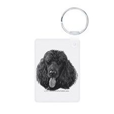 Shadow, Standard Poodle Keychains
