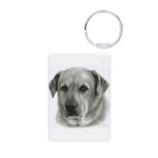 Lindsay - Yellow Lab Mix Keychains