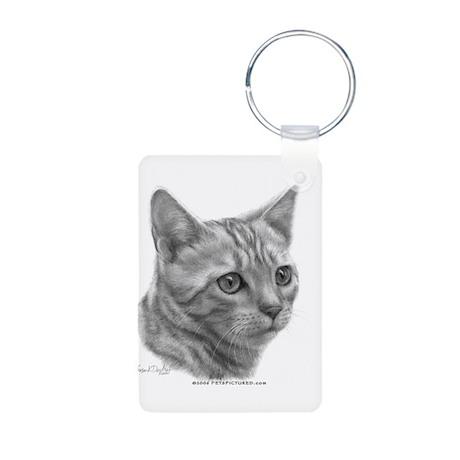 Bengal Cat Aluminum Photo Keychain