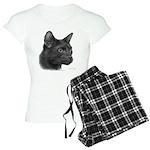 Havana Brown Cat Women's Light Pajamas