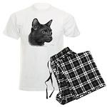 Havana Brown Cat Men's Light Pajamas