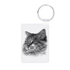 Maine Coon Cat Keychains
