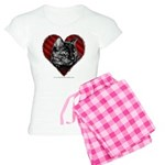 Kitty Heart Women's Light Pajamas