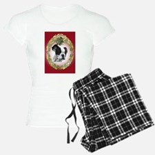 Ffrench Bulldog Mistletoe Pajamas