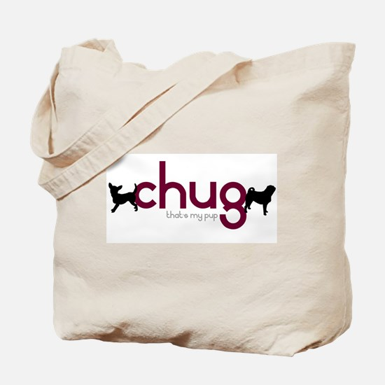 Chihuahua/Pug Tote Bag